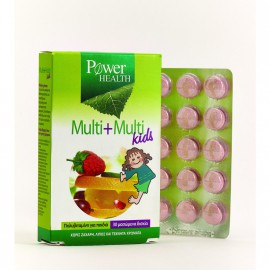 POWER HEALTH MULTI + MULTI KIDS, 30s