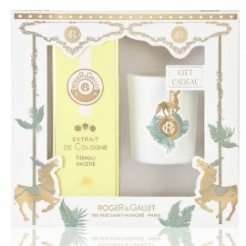 Roger & Gallet Set Extrait de Cologne Neroli Facetie 100ml + Δώρο Αρωματικό Κερί