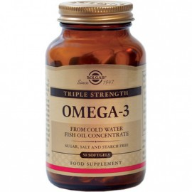 Solgar Omega-3 Triple Strength 50 softgels