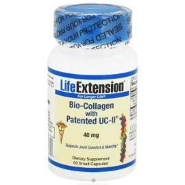 Life extension bio collagen with patented UCII 40mg 60 caps