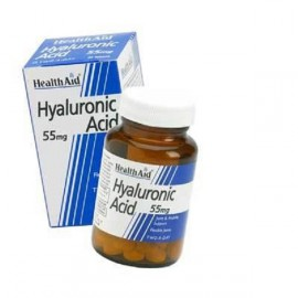 HEALTH AID HYALURONIC ACID 55mg 30s