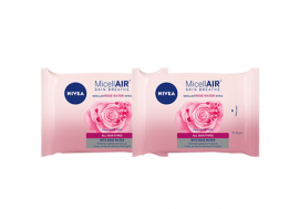 Nivea Micellair Micellar Wipes With Rose Water 25wipes 1+1 Δώρο