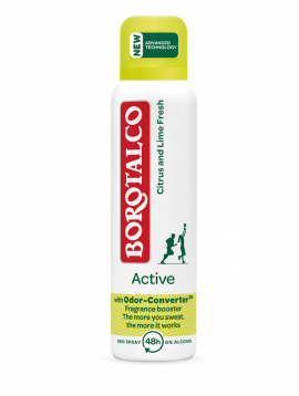 Borotalco Active Citrus & Lime Deodorant Spray 150ml