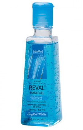 Intermed Reval Plus Crystal Water Antiseptic Hand Gel 100ml