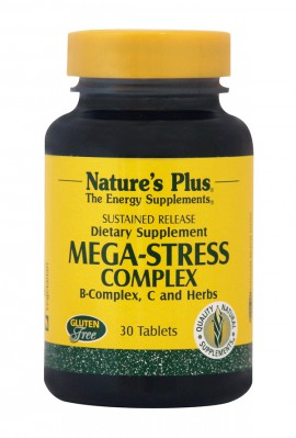 NATURES PLUS Mega Stress Complex 30tabs
