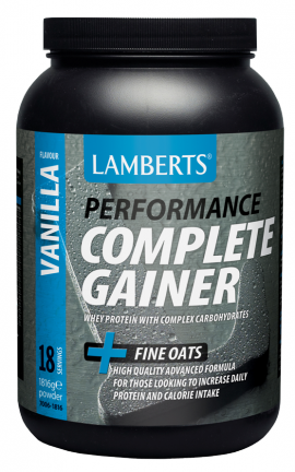 LAMBERTS COMPLETE GAINER ΓΕΥΣΗ ΒΑΝΙΛΙΑΣ1816GR