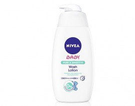 NIVEA Baby Pure & Sensitive Wash Lotion 500ml