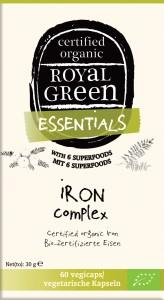 AM HEALTH ROYAL GREEN Organic Iron Complex 60 vegicaps