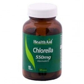HEALTH AID CHLORELLA 550MG TABLETS 60S