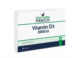 Doctors Formula Vitamin D3 2000IU 60 soft caps