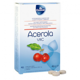 Cosval Acerola 40 tabs