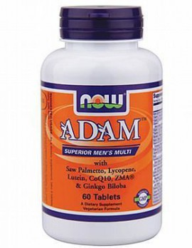 Now Foods Adam Superion Men's Multi 60tabs