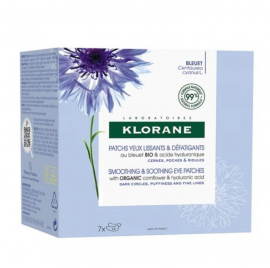Klorane Bleuet Smothing & Soothing Eye Patches 7x2 Τεμάχια