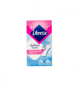 Libresse Daily Fresh Σερβιετάκια Normal 32τμx