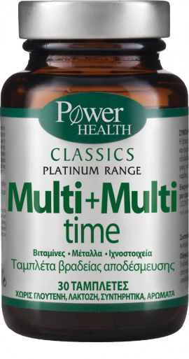 Power Health Cassics Platinum MULTI+MULTI TIME 30s Tabs