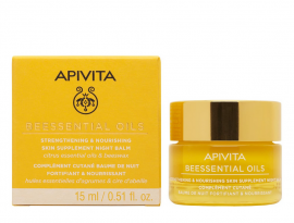 Apivita Beessential Oils Night Balm 15ml