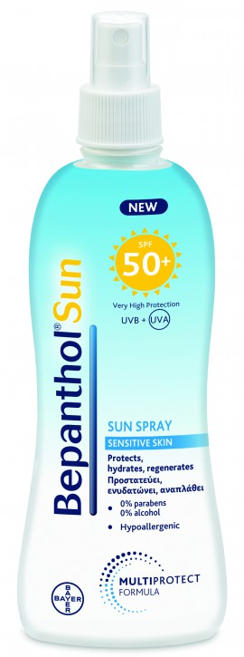 Bepanthol Sun Spray Sensitive Skin SPF50+ 200ml