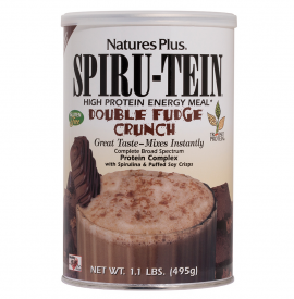Natures Plus SPIRU-TEIN,DOUBLE FUNGE CRUNCH, 495G