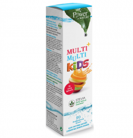 Power Health Multi + Multi Kids Stevia με Γεύση Φράουλα 20 Eff.Tabs