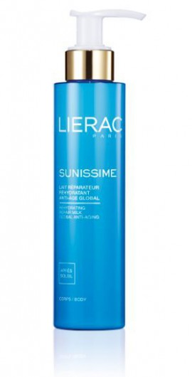 LIERAC SUNISSIME Lait Reparateur Rehydratant Anti-Age Global Corps 150ml