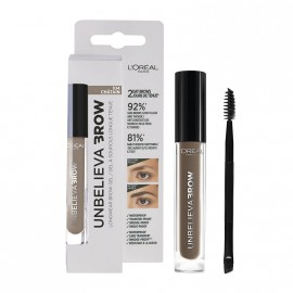 LOreal Paris Unbelieva Longwear Brow Gel 104 Chatain 3.4ml
