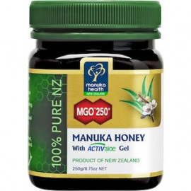 AM HEALTH Manuka Health Manuka Honey with ActivAloe Gel 250g (MGO 250+)