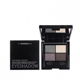 Korres Black Volcanic Minerals Eyeshadow Quad -The Naked Smokey 5g