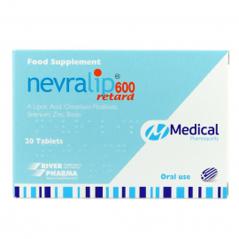 Medical Pharmaquality Nevralip 600 Retard 20tabs