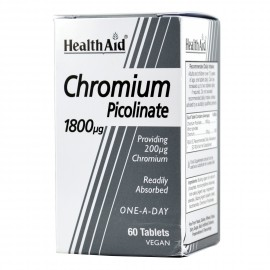 HEALTH AID CHROMIUM PICOLINATE 200ΜG 60S