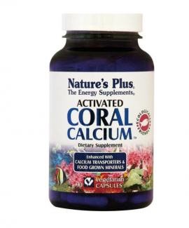 Natures Plus CORAL CALCIUM ACTIVATED 90CAPS