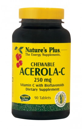 NATURES PLUS Acerola C Complex 250mg 90chewable tabs