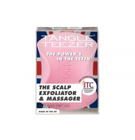 Tangle Teezer The Scalp Exfoliator And Massager Pretty Pink 1τμχ