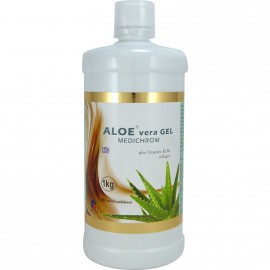 Medichrom Aloe Vera Gel Plus Vitamin D με Γεύση Ροδάκινο 1Kg