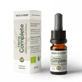 Hemp Complete 2,5%, 10ml