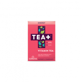 Vitabiotics TEA+ Energy Vitamin Tea με γεύση Raspberry & Ρόδι 14τμχ