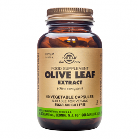 SOLGAR SFP OLIVE LEAF EXTRACT 60VCAP
