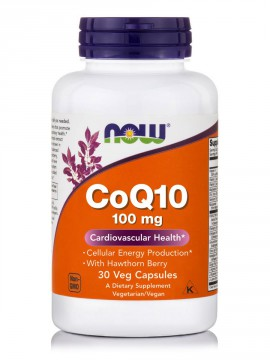 Now Foods Coq10 100mg 30 Veget.caps