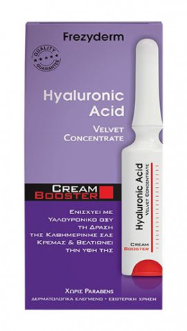 Frezyderm Hyaluronic Acid Velvet Concentrate Cream Booster 5ml