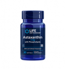 Life Extension Astaxanthin 4 mg with Phospholipids 30Softgels
