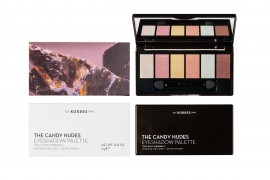 Korres Volcanic Minerals The Candy Nudes Eyeshadow Palette 6g