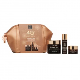 Apivita 40s Birthday Set Queen Bee Πλούσιας Υφής 50ml + Δώρο Queen Bee Serum 10ml + Δώρο Queen Bee Night Cream 15ml