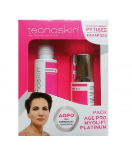 Tecnoskin Set Myolift Platinum Face Cream 50ml + Δώρο Antioxidant Sensitive Cleansing Gel 100ml