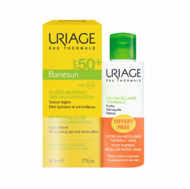 Uriage Set Bariesun Mat Fluide SPF50+ 50ml + Δώρο Uriage eau Micellaire Thermale 100ml