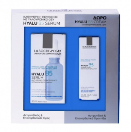 La Roche Posay Hyalu B5 Serum 30ml + ΔΩΡΟ La Roche Posay Hyalu B5 Cream 7.5ml