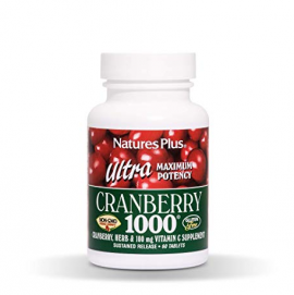 Natures Plus Ultra Cranberry 1000mg 60tabs