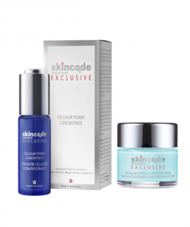 Skincode Anti-Aging Moisture Duo Exclusive Cellular Exreme Mask 50ml + Exclusive Cellular Power Concentrate 30ml