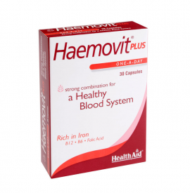 HEALTH AID HAEMOVIT PLUS -BLISTER 30S