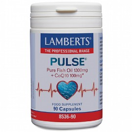 Lamberts Pulse Fish Oil & CoQ10 90caps