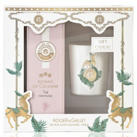 Roger & Gallet Set Extrait de Cologne The Fantaisie 100ml + Δώρο Αρωματικό Κερί