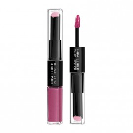 LOreal Paris Infaillible 24HR 2 Step Lipstick 121 Flawless Fuschia